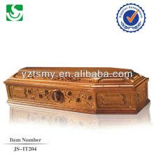 Китай сделал Оптовая Европейский стиль роскошный гроб