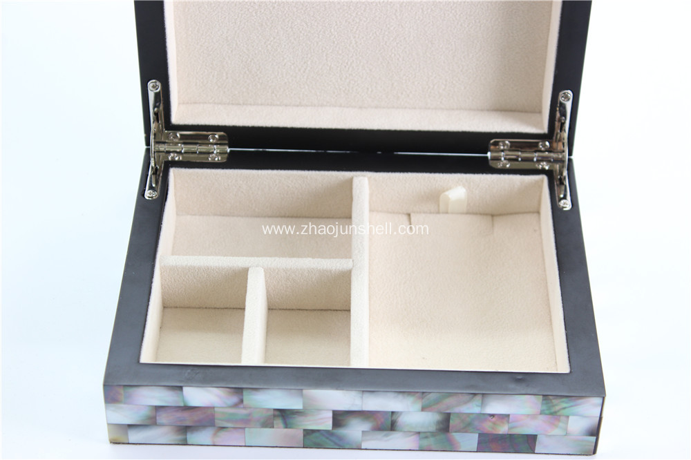 Wholesale Golden Mother of Pearl Handmade Jewelry Box