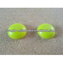 plastic magnetic button,plastic coated magnet,round magnetic button,whiteboard accessories,30mm