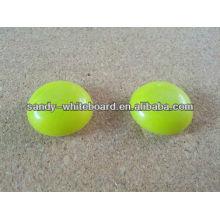Пластиковая магнитная кнопка, магнит с пластиковым покрытием, круглая магнитная кнопка, аксессуары для доски, 30 мм