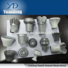 Perfil de extrusión de aluminio a medida moldeado a presión para piezas de iluminación