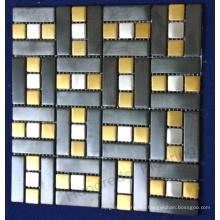 Wall Tile Stainless Steel Metal Mosaic (SM228)