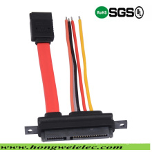 SATA 7+15p to SATA 7p and 4p Power Connector Cable