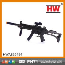 Most Popular Products Plastic B/O Gun flashing light gun toy wholesale toy guns