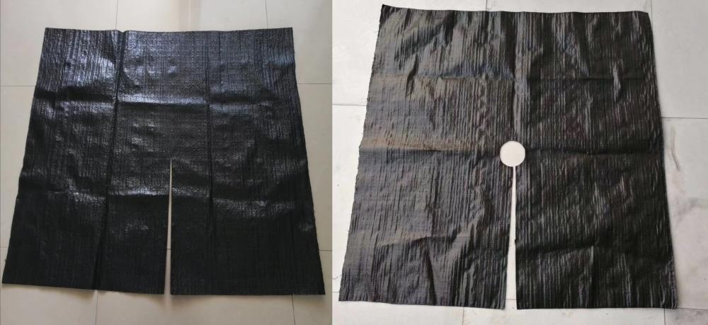 Black Woven Weed Mat 03