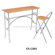 folding student table & chair