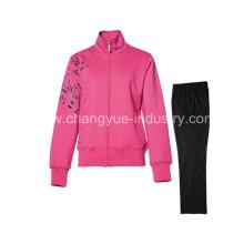 nuevo estilo de algodón moda material deportivo chaquetas y pantalones