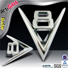 Artigifts company professional custom chrome letter car badge