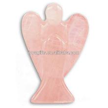 """Mano tallada 2 """"ángel de piedras preciosas ángel tallado alas"""