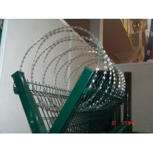 Hot-Dipped High Carbon Steel Razor Wire