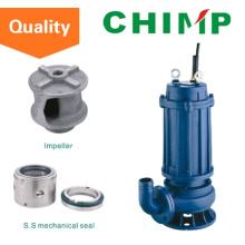 Wq (D) einphasige oder dreiphasige 0,75 kW Schmutzwassertauch-Zentrifugalpumpe (WQ (D) 10-8-0,75)
