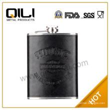 18/8 304 FDA and LFGB high quality 2015 cool alcohol hip flask