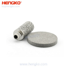 high quality food grade customized stainless steel 316 316L bronze bacterial viral breathing filter