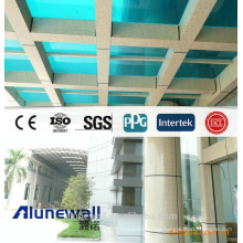 Alunewall light weight Marble Finish Aluminum Composite Panel/stone Look wall paneling best sell Exterior Building Materials