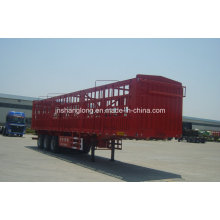 13 Meters Three Axle 50ton Stake Semi Trailer