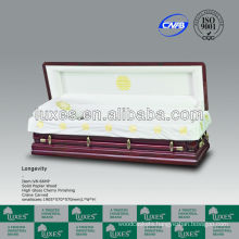Nature Wooden Chinese Casket