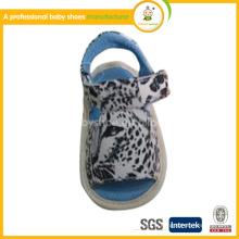 Vente en gros de haute qualité de couleur mélangée nouvelle mode de chaussures en cuir véritable sandales