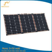Módulo de painel solar dobrável 150W para acampar