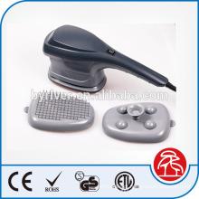 Infravermelho vibração massagem martelo Handheld Massager do corpo com 3 cabeças mutáveis