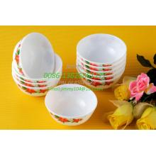 "White Jade Glass Bowl Gift Bowl -4.5"""