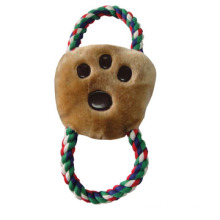 Dog Plush Rope Cookies Toy, Pet Toy