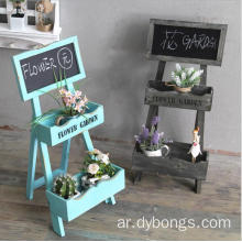 Rustic Wood mini chalkboard menu stand holder restaurant small blackboard