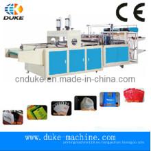 Totalmente automática no tejidas bolsa que hace la máquina de Taiwán para hacer bolsa de la camiseta (DFHQ-450X2)