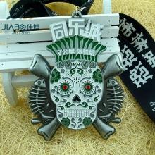 Maratona de Metal personalizado executando prêmio medalha de esportes com fita