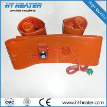 Calentador de caucho de silicona para bidón de aceite