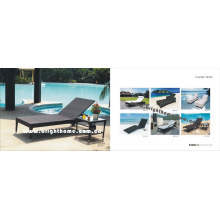 PE Rattan Wicker Outdoor Day Bed Leisure Furniture