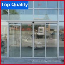 Porte coulissante automatique en aluminium avec bonne qualité