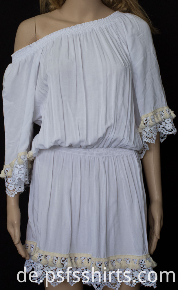 Campanula Skirt with Lace Sleeve