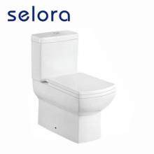 Sanita padrão americano de duas peças com capa de assento