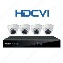 1080P 720p Hdcvi cámaras de infrarrojos CCTV Proveedores Cámara de seguridad con 4CH DVR Kit