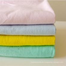Tejido de franela teñido de poliéster / algodón