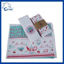 100% хлопок подарочный чай полотенце (QHG7761)