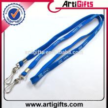 Custom deisgn polyester cord rope lanyard