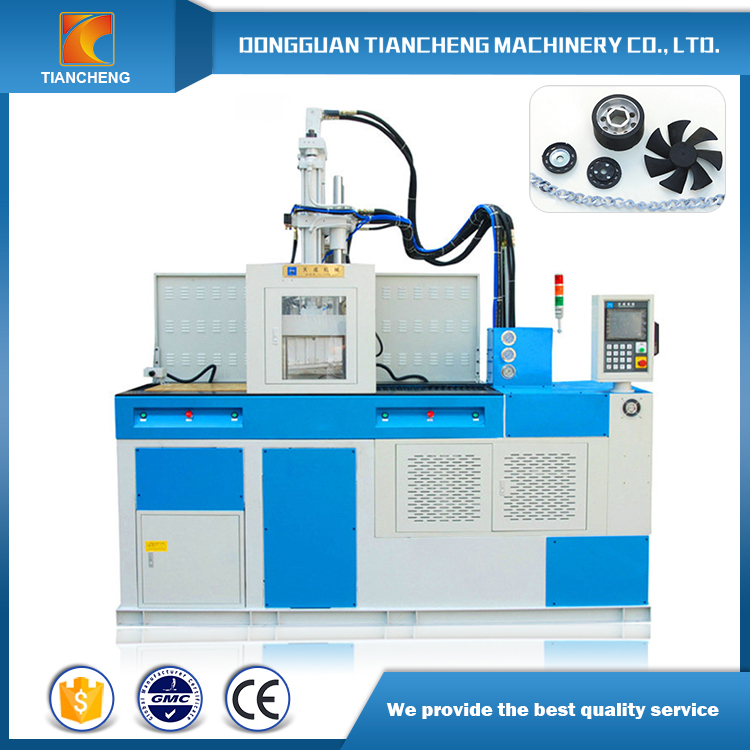 Vertical Double Sliding Table Injection Machine