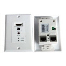 ИК пульт дистанционного управления 50 м пластик разбиватель HDMI через Двойное UTP-кабель