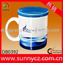 Factory direct wholesale ceramic mug with lid