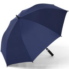 Promotional Cheap Umbrellas Custom Print Brand Logo Automatic Straight Golf Umbrella