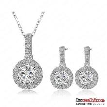 Cadeaux de la Saint-Valentin des femmes Ensembles de bijoux en zircon cubique (CST0006-B)