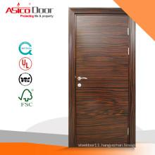ASICO Walnut Veneer Wooden Flush Door For Hotel