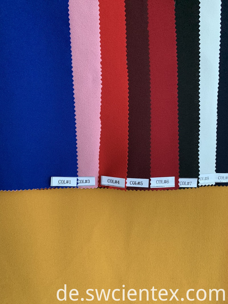 Jersey fabric Escuba crepe fabric