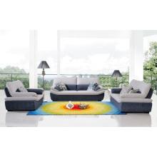 Sofá para muebles de sala Sofá de esquina de tela