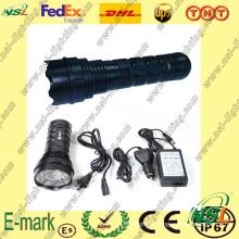 Lampe de recherche/flash HID 24W, lampe de recherche HID, lampe de poche HID