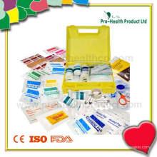Kunststoff wasserdicht Großer Erste-Hilfe-Kit (PH029)