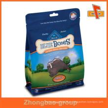 Guangzhou impressão e acondicionamento de produtos personalizados impressos plástico saco de embalagem de alimentos para cães