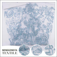 Oem service En gros beau mariage 100% polyester tissu extensible