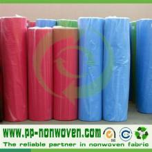 Rouleau de tissu de prix bas d'approvisionnement d'usine de Nonwoven